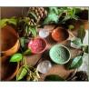 Portaincensi Piccolo in Ceramica con Triquetre - Verde