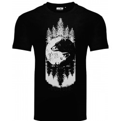 T-Shirt Uomo WolFolk Orsi e Runa Uruz