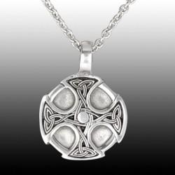 Ciondolo Croce Celtica in Peltro con Catenina 2