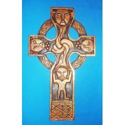 Croce di San Patrizio da Parete in Legno