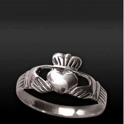 Anello Claddagh - Fede Irlandese tg.54 / 14