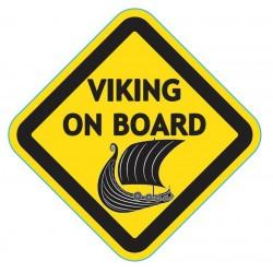 Adesivo Auto Viking on Board