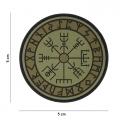 Toppa Vegvisir Rune in Silicone con Velcro II