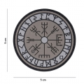 Toppa Vegvisir Rune in Silicone con Velcro I