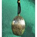 Celtic Brass Necklace