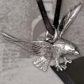Eagle, silver pendant