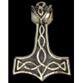 Thor 's Hammer Pendant - bronze